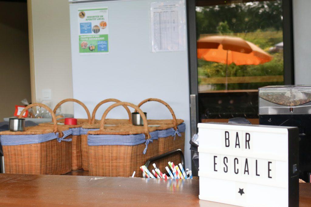 Domaine Ecotelia - Bar l'escale - Nos aventures voyageuses