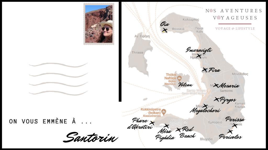 4 jours à Santorin - Nos aventures voyageuses