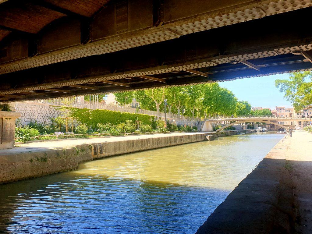 Narbonne - Canal de la Robine - Nos aventures voyageuses