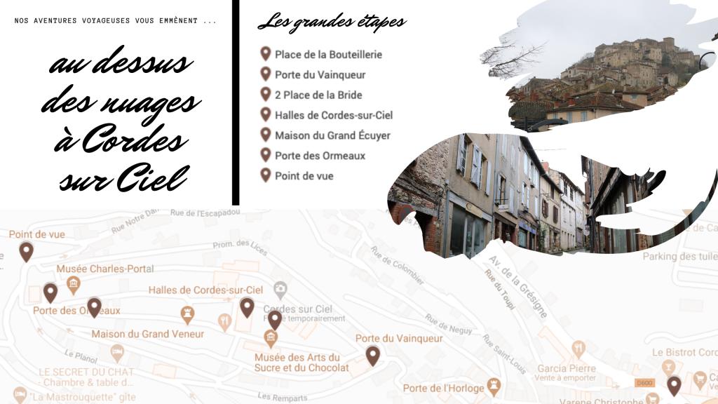 Itinéraire d'une journée à Cordes-sur-Ciel - Nos aventures voyageuses