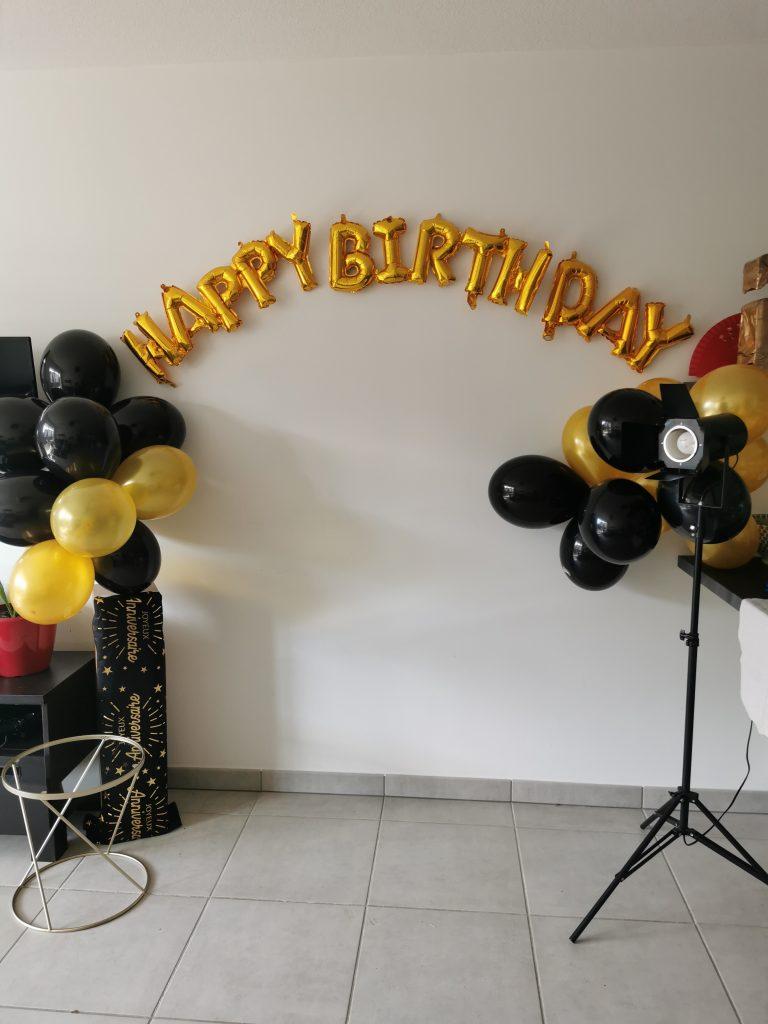 Décoration anniversaire 25 ans