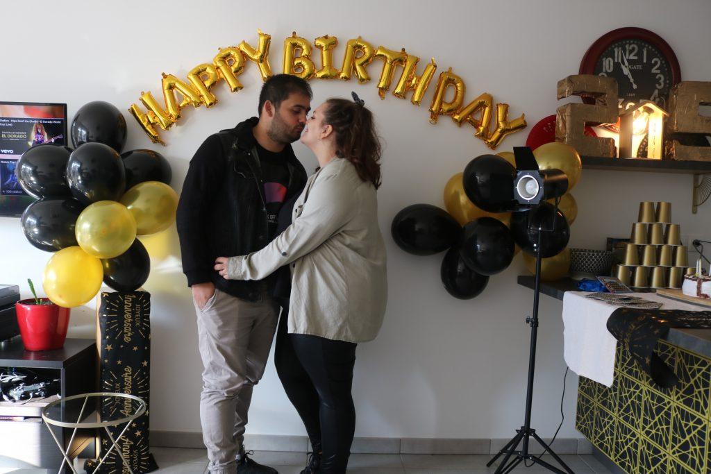 anniversaire surprise de mon homme