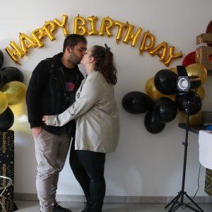 L'anniversaire surprise de mon homme