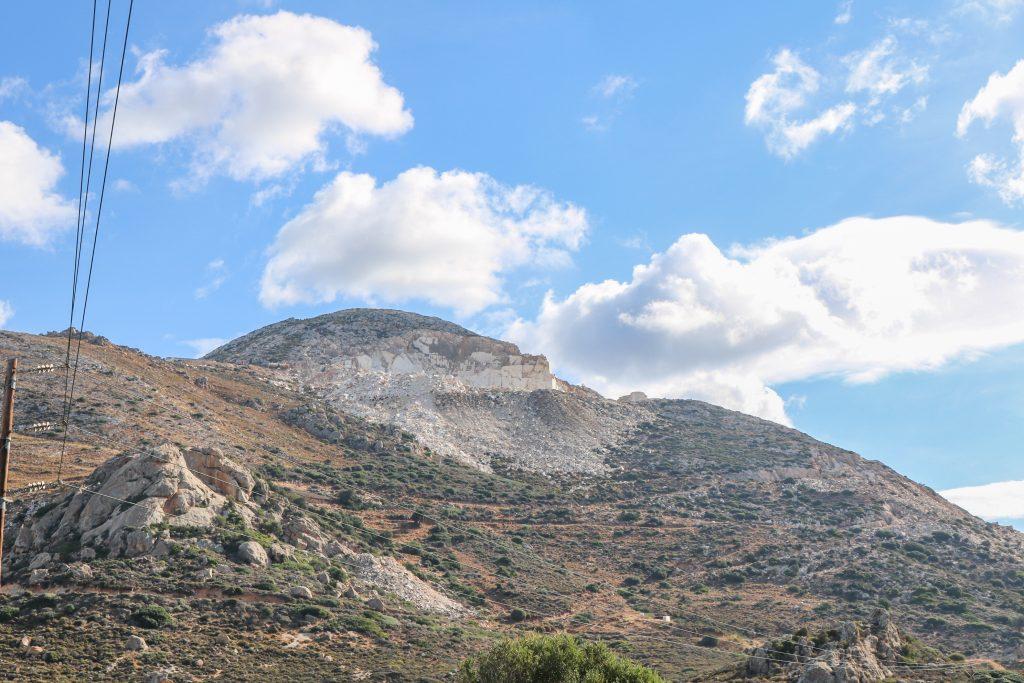 Naxos - Marbre de Naxos - Nos aventures voyageuses