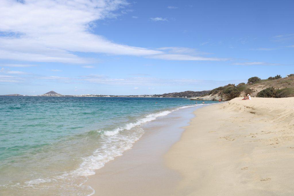Naxos - Plage de Plaka - Nos aventures voyageuses